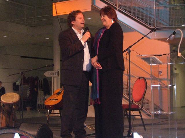 Tijdens het eerste Lustrum van de Promotiekamer sprak Rita Verdonk